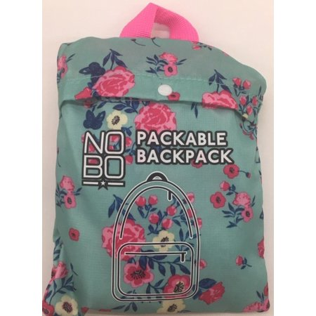 Packable Backpack Country Floral