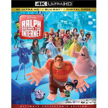 Wreck It Ralph Halloween (Ralph Breaks The Internet (4K Ultra HD + Blu-ray + Digital)