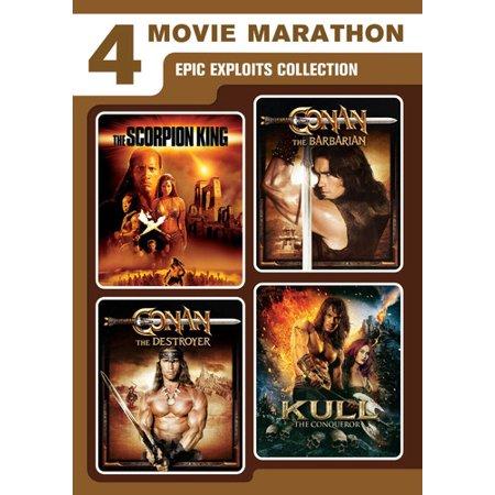 4 Movie Marathon  Epic Exploits Collection