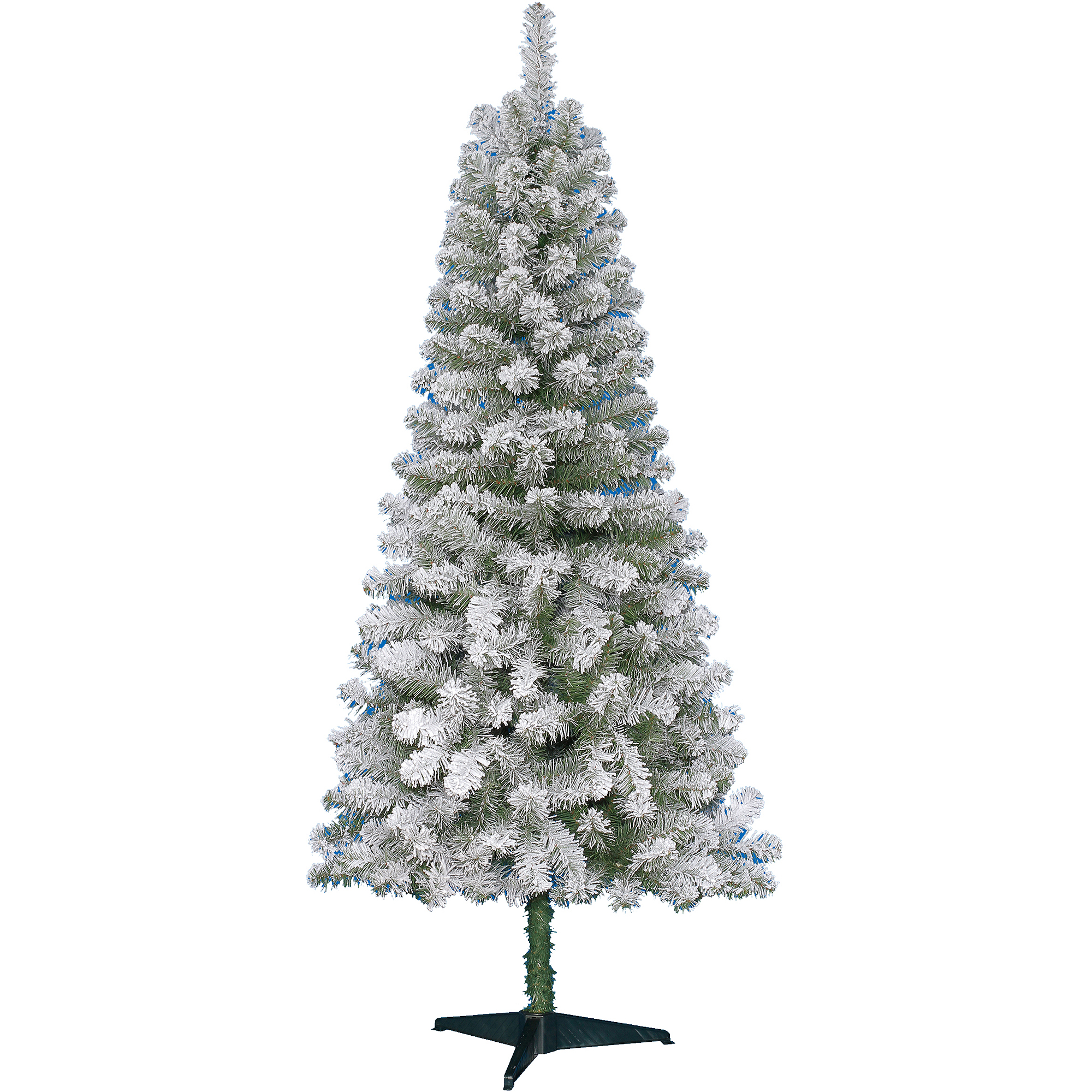 Holiday Time Non-Lit 6\' Greenwood Pine Christmas Tree, Green ...