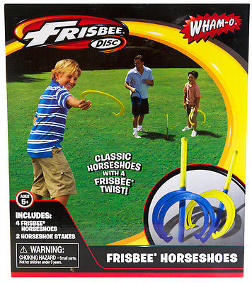Frisbee Horseshoes Game Wham-O Outdoor Park Fun Toy Vintage Back Yard
