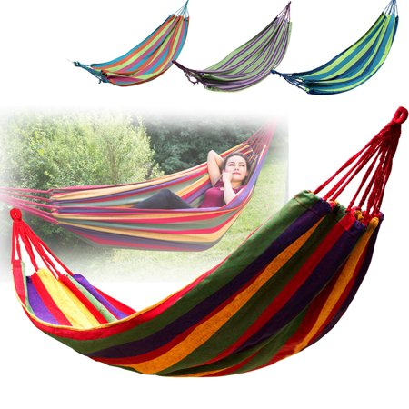 80 Inch Hammock Chairs Bed Cotton Rope Hanging Chair Swing Seat For Outdoor Yard Patio Porch Garden Camping,Portable thumbnail