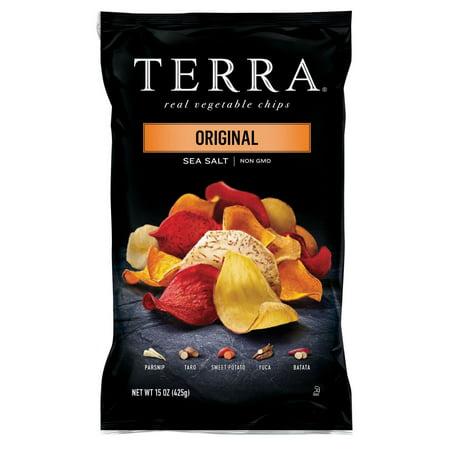 Product of Terra Original Sea Salt Vegetable Chips, 15 oz. [Biz Discount]