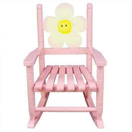 - Teamson Kids Safari Rocking Chair Flower