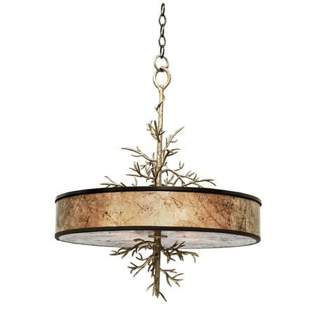 Pendants 4 Light With Bronze Gold Tone Finish Medium Base Bulb 28 inch 160 Watts