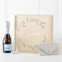 Personalized Floral Bridesmaid Gift Box Set