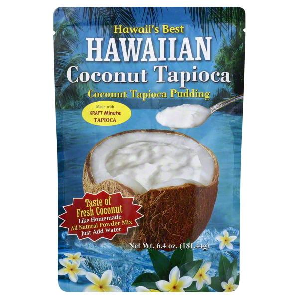 Hawaiian Coconut Tapioca Pudding, 6.4 Oz.