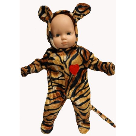 Halloween Superstore Website (Tiger Halloween Costume fits Baby Doll And 14 Inch Cabbage Patch)