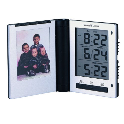 Howard Miller Photo Traveler Desktop Alarm Clock
