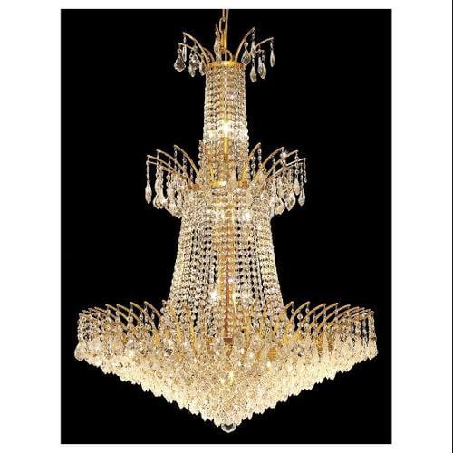 Elegant Lighting 8033G32G/RC Chandeliers Victoria