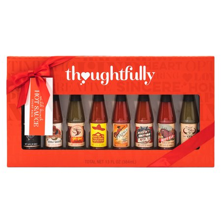 Wild Bunch Hot Sauce Gift Set: A Collection of 8 Hot Sauces Including Flavors Like Smokey Bourbon Hot Sauce, Pico Picante Hot Sauce, Buffalo Garlic Hot Sauce and Many More Unique (Best Bourbon For Christmas Gift)