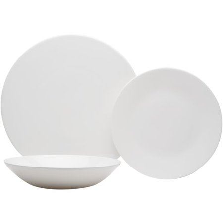 Red Vanilla Extreme Round 6 Pieces Bone China Salad Plates