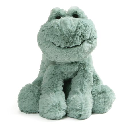 GUND Cozys Collection Frog Stuffed Animal Plush Pale Olive, 10""