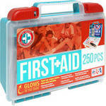 Click here to buy Be Smart Get Prepared First Aid Kit, 250 pc by Total Resources International.