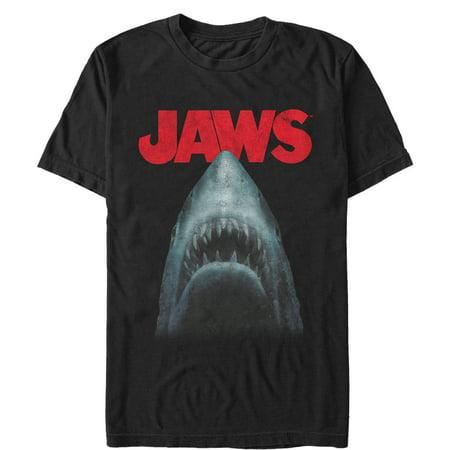 Jaws Men's Shark Teeth Poster T-Shirt