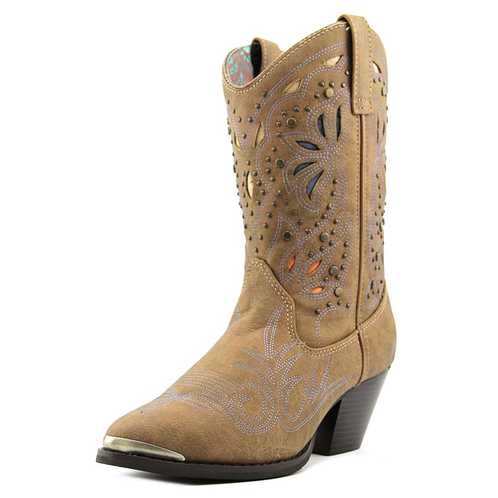 Dingo Annabelle Women Round Toe Synthetic Brown Western Boot by Dingo