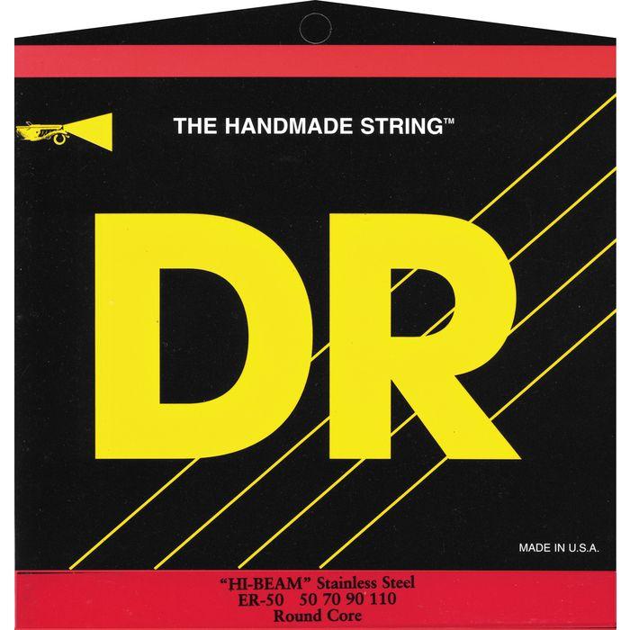 DR Strings ER-50 Hi-Beam Bass Strings 50-110 by DR Strings