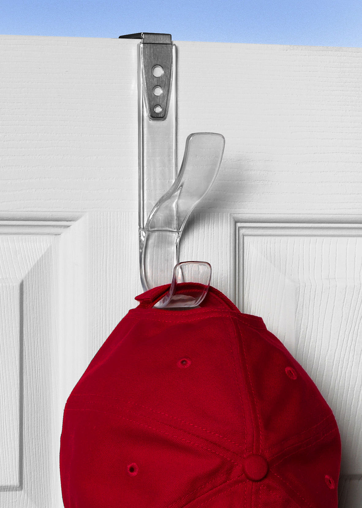 Adjustable Over The Door Hat Coat Hook Walmart Com Walmart Com