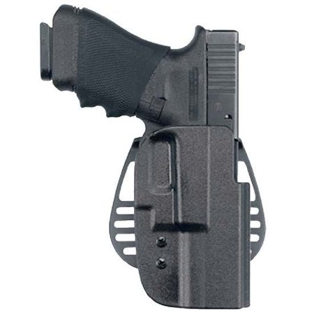 Uncle Mike Kydex Paddle 54252 Ot Hip Holster Kydex Black Size 25 Lh W/Pba Clam Lh Uncle Mikes