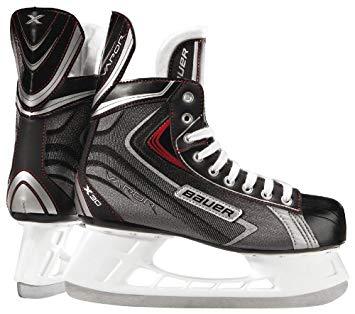 New Bauer VaporX30 1041218 11.0 R Senior Black Red Ice Hockey Skate by Bauer