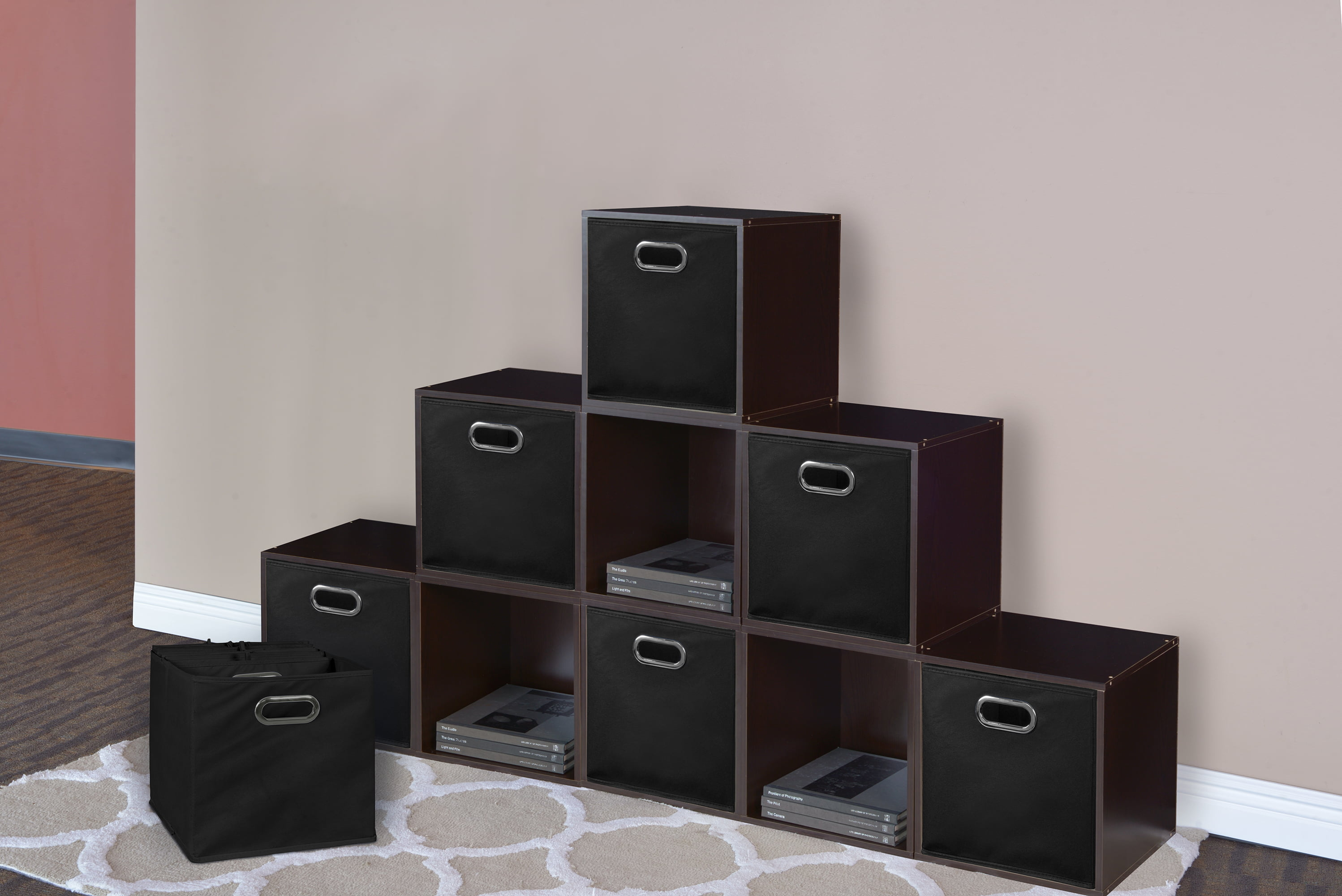 Click here to buy Niche Cubo Foldable Fabric Storage Bin, Set of 12 by Regency.