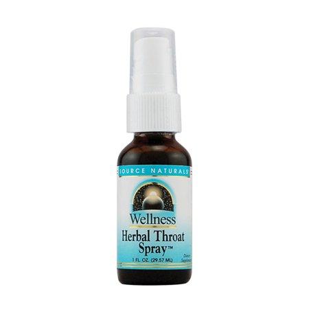 Wellness Herbal Throat Spray For Immune Support   1 Oz