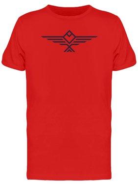 Geometric Black Eagle Shape Tee Men's -Image by Shutterstock