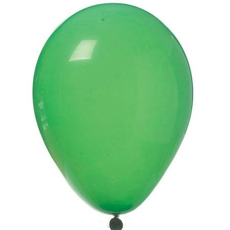 Latex Balloons, Bright-Tone Green, 11in, 12ct Tone Latex Balloons