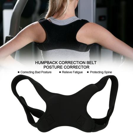 HURRISE Humpback Correction Belt Back Shoulder Comfortable Strap Adjustable Belt Posture Corrector, Humpback Correction Belt, Adjustable Posture (Civil War Sword Belt With Shoulder Strap)