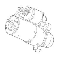 Genuine OE GM Starter 12645298