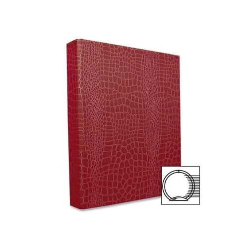 AURORA PRODUCTS PROformance II Round Ring Binder, Non-View, Letter Size, 1'' Capacity, Red