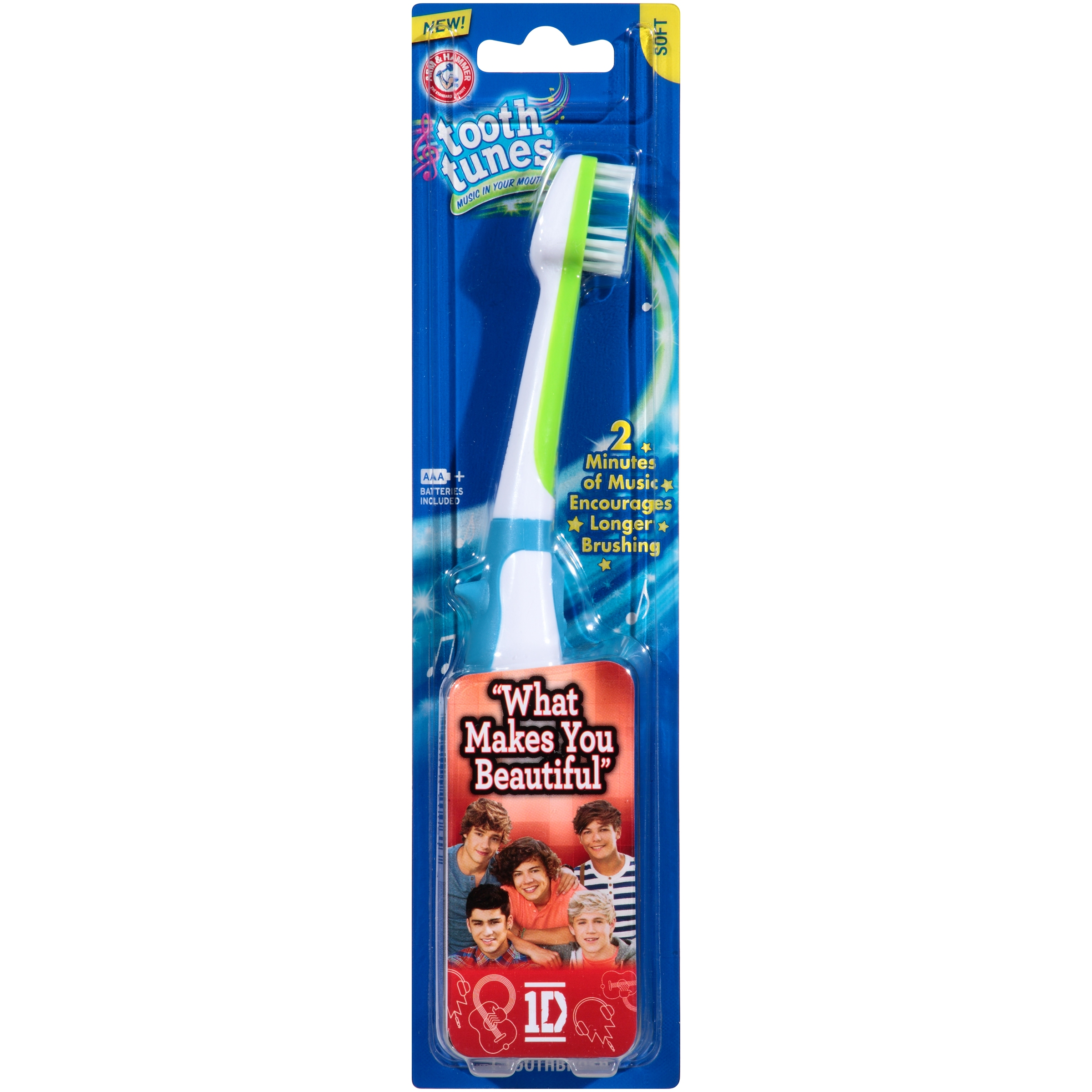 Arm & Hammer™ Tooth Tunes™ One Direction Soft Toothbrush