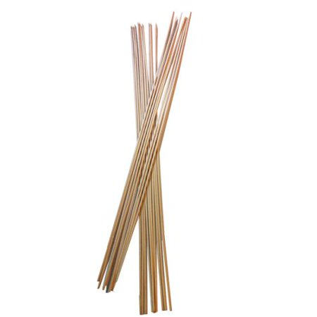 32-inch Bamboo Marshmallow Roasting Sticks - Set of 72 pieces