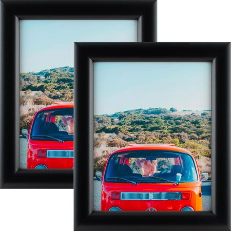 Craig Frames Bullnose 125, Mystic Satin Black Picture Frame, 12x18 Inch, Set of (1750rpm 90vdc 56c Frame)