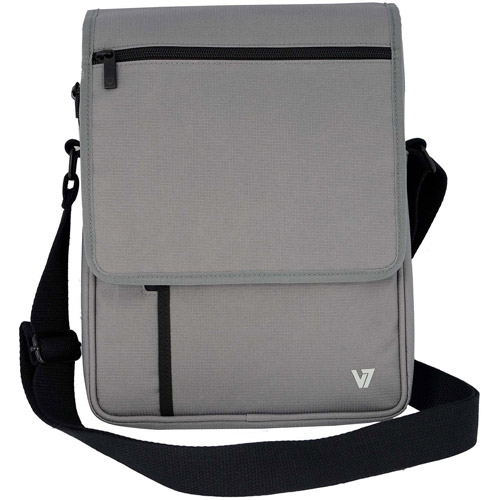 V7 Mobility Accessories TD21BLK-1N Premium Messenger Bag Fr Tablet ...