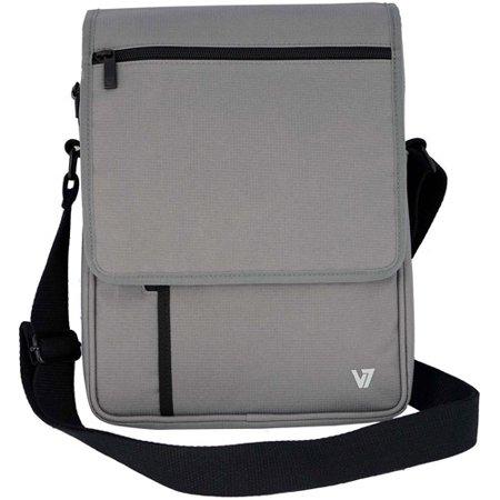 V7 Mobility Accessories TD21BLK-1N Premium Messenger Bag Fr Tablet ...