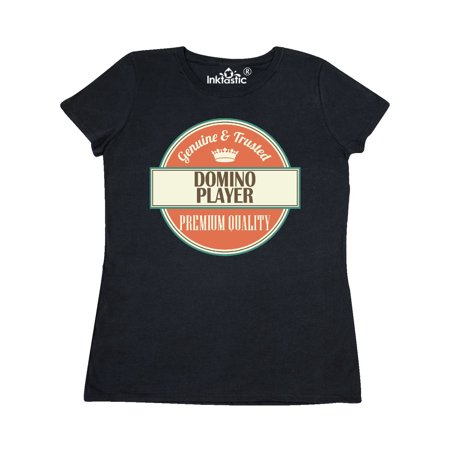Domino Player Funny Gift Idea Women's T-Shirt