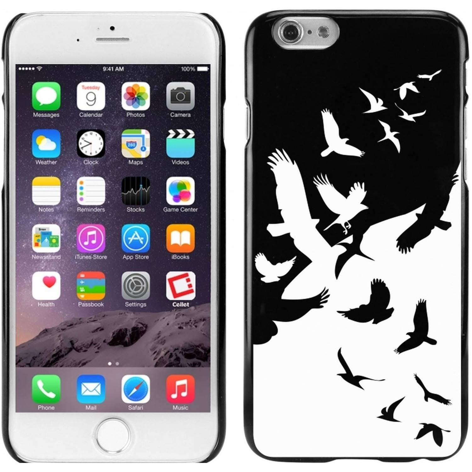 Cellet TPU/PC Proguard Case with Birds for Apple iPhone 6