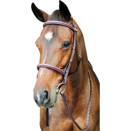 Henri De Rivel Pro Fancy Raised Comfort Crown Padded Bridle