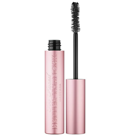 Too Faced Better Than Sex Mascara, Black, 0.27 Oz - Mascara De Calabaza Para Halloween