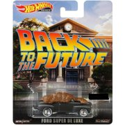 2019 Hot Wheels 1/64 Retro Entertainment Back to The Future Ford Super De Luxe Diecast Model Car