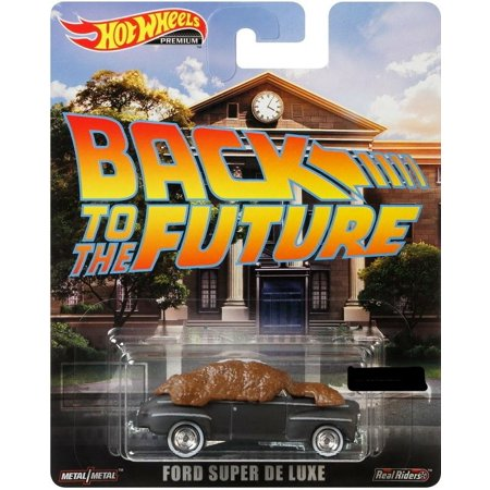 2019 Hot Wheels 1/64 Retro Entertainment Back to The Future Ford Super De Luxe Diecast Model Car ()