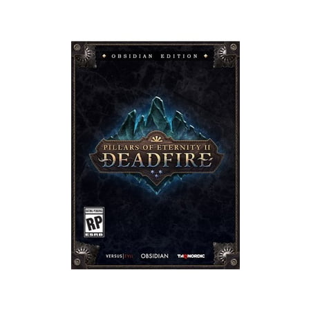 Pillars Of Eternity II: Deadfire Obsidian Edition, Nordic Games, PC  Software, 811994021472