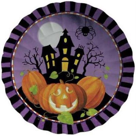 Halloween Haunting 11-inch Paper Tray, 10PK - Halloween Veggie Trays