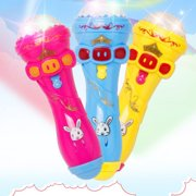 Children's Luminous Toys Microphone Flash Stick Baby's Toys