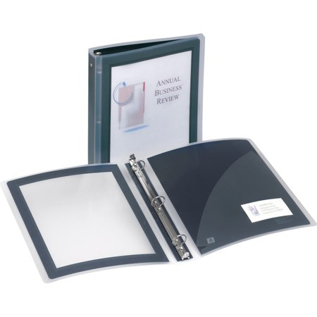 Avery®, AVE17686, Flexi-View Binders with Round Rings, 1 Each, Black
