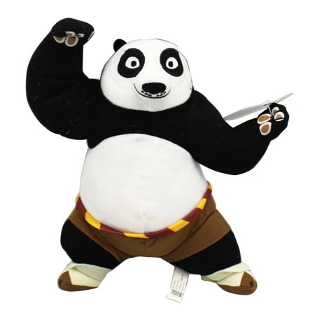 Kung Fu Panda 3 Standard Po in Brown Shorts Plush Toy (10in)