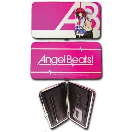 Hinge Wallet - Angel Beats! - New Yuri & Kanade Girls Anime Licensed ge61049