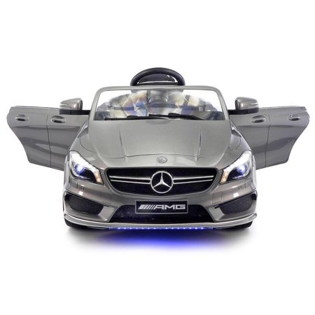 Mercedes Amg Wheel - 2018 Licensed Mercedes AMG 12V Battery Ride on Toy Car Powered Wheels w/ Dining Table, LED Lights