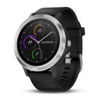 Garmin vivoactive 3 Black with Stainless Hardware Smart Watch (010-01769-01)